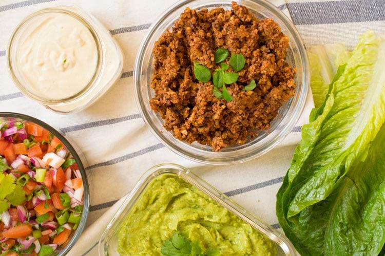 Super easy vegan tacos raw gf raw revive raw vegan tacos forumfinder Images