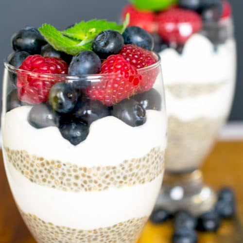 French Vanilla Chia Seed Pudding