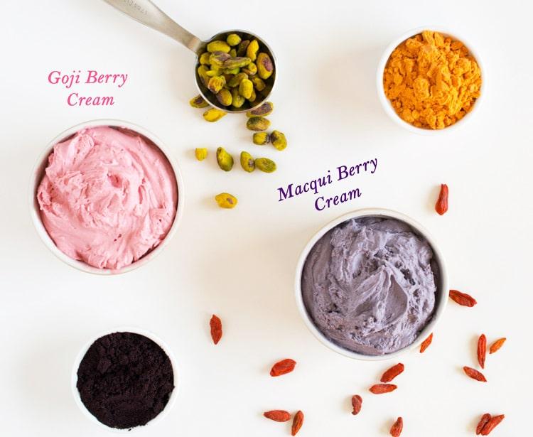 Goji And Maqui Berry Cream Tarts Crystal Dawn Culinary