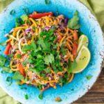 Asian Squash Noodles