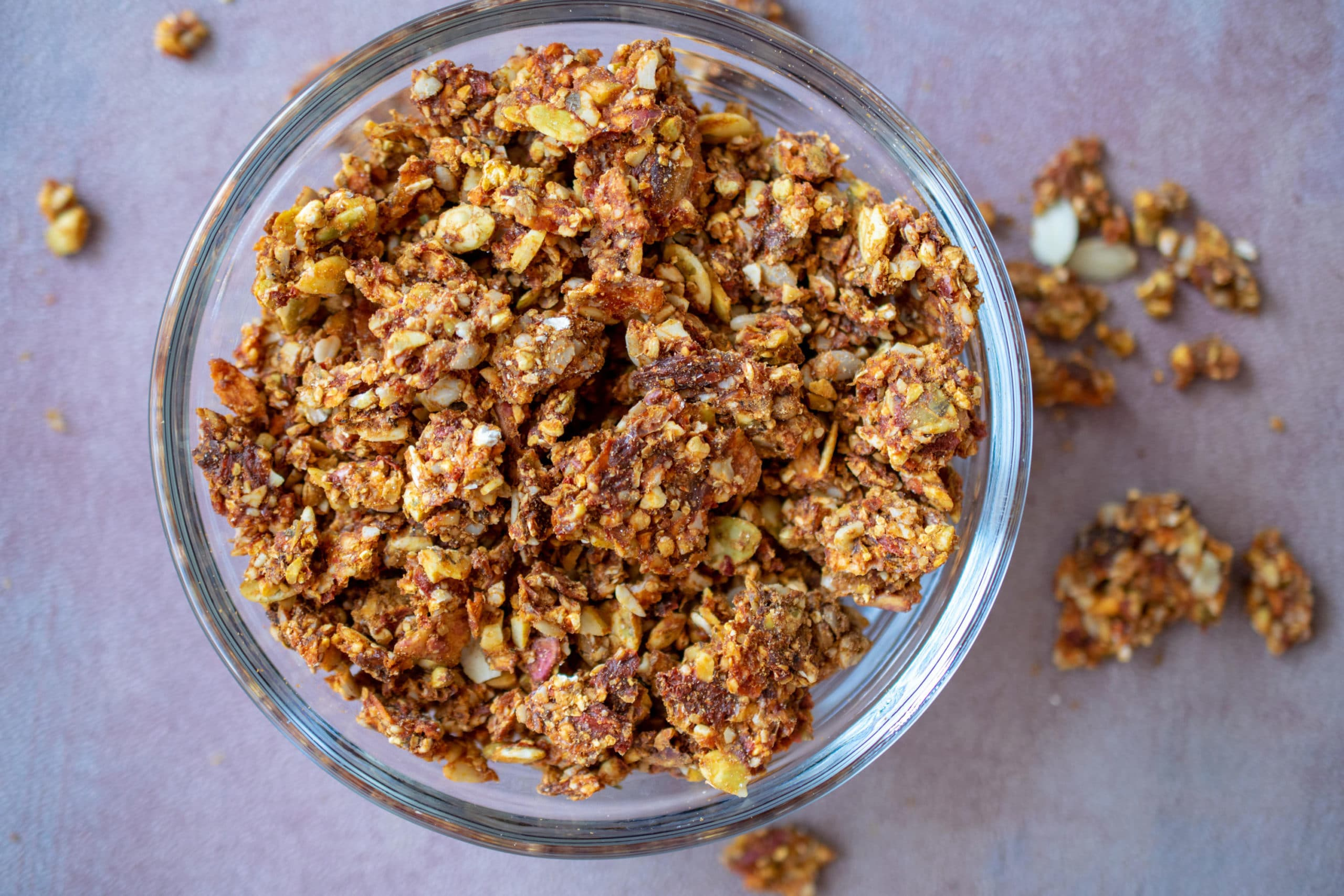 Goji Berry Orange Granola