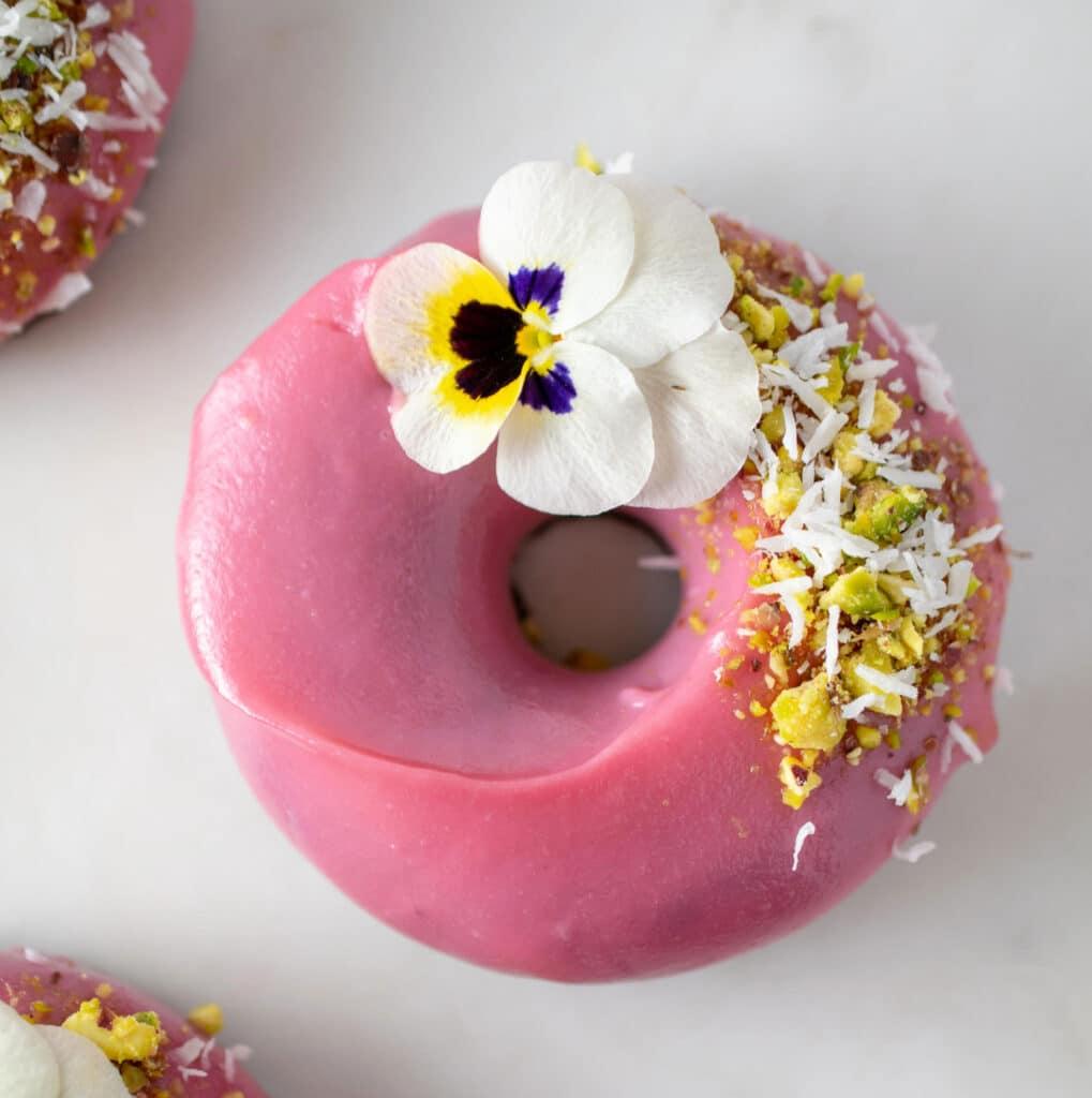 raw doughnut