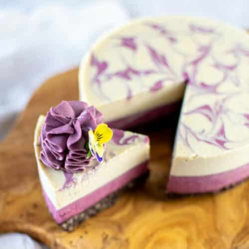 Summer Berry Lime & White Chocolate Cheesecake