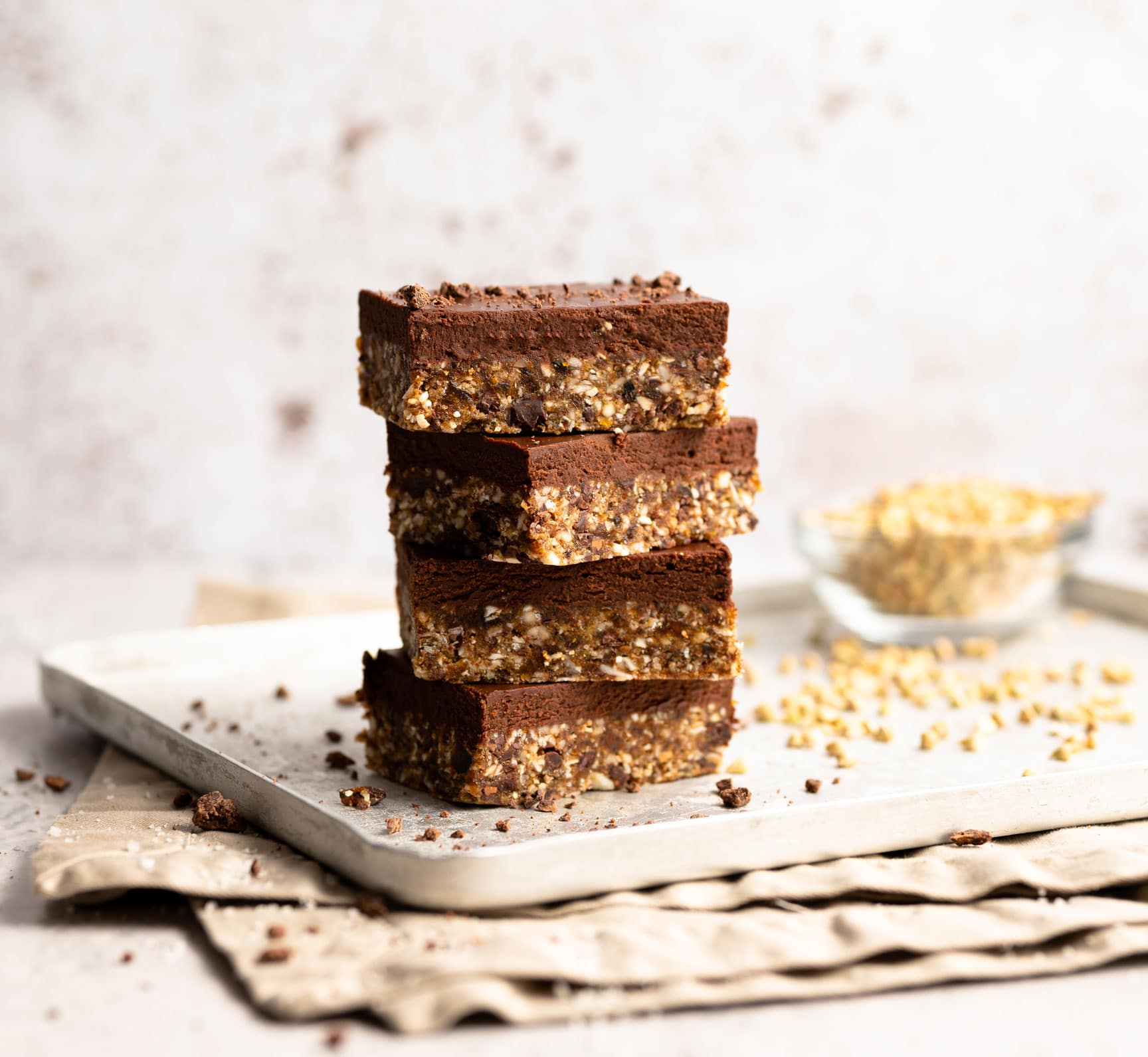 Apricot Cacao Superfood Granola Bars